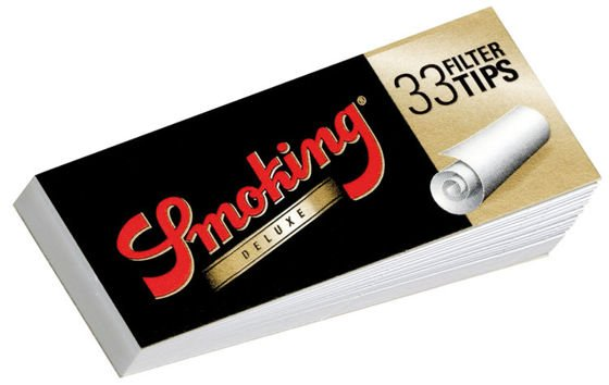 Filterki Smoking King Size Deluxe 33szt. BOX 50szt.
