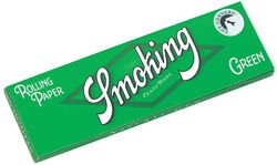 Bibułka Smoking Green Regular